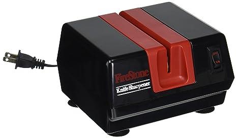 Amazon.com: McGowan Firestone afilador eléctrico, Negro/Rojo ...