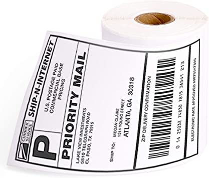Dymo 30323 Compatible LabelWriter Internet Postage Labels With Standard Shipping