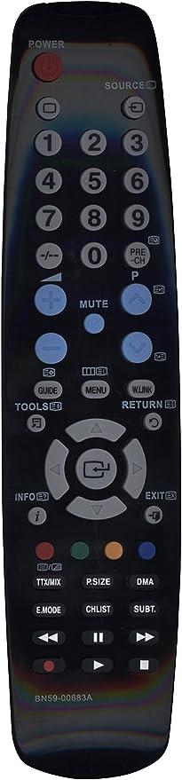 Mando a distancia de repuesto BN59-00683A para Samsung TV LCD: Amazon.es: Electrónica