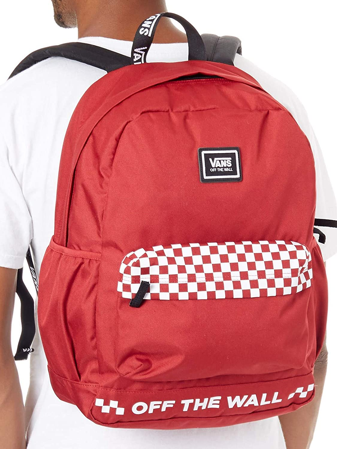 VANS - MOCHILA - WM SPORTY REALM PLUS SCOOTER - ROJO (TALLA UNICA): Amazon.es: Equipaje