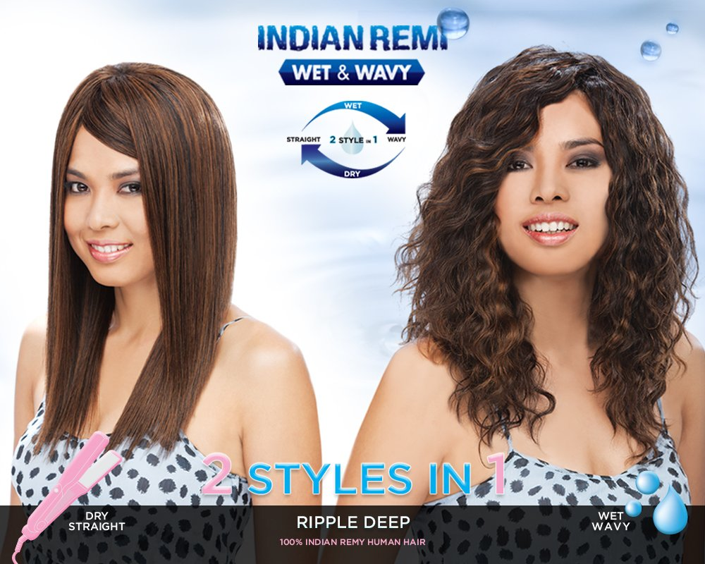 Amazon Harlem 125 5 Star Indian Remi Wet Wavy Ripple Deep 5