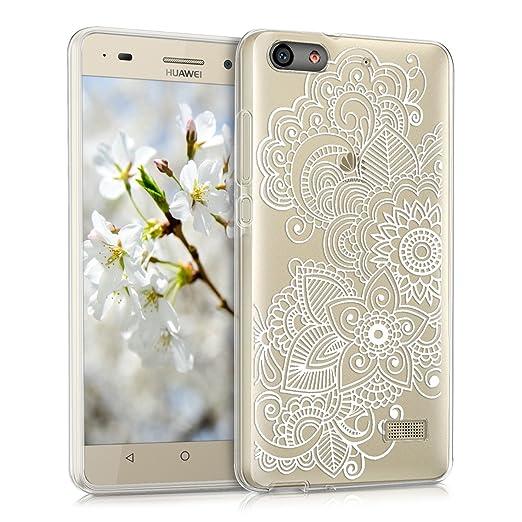 12 opinioni per kwmobile Cover per Huawei G Play Mini- Custodia in silicone TPU- Back case