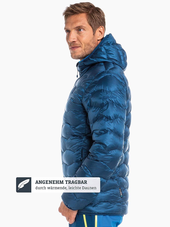 comodo e traspirante per sci Uomo Sch/öffel Down Jacket Keylong2 Piumino leggero e caldo da uomo