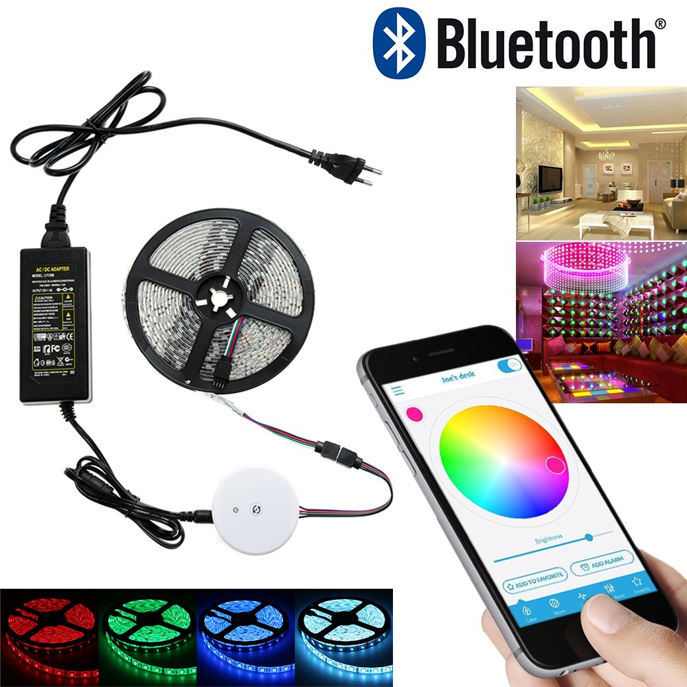 Color lines online strip game - Bluetooth Strip Light Elflight Smart Home Rgb Led Strip Smartphone App Controlled Rope Light Kit For Iphone Ipad Iwatch Android And Amazon Fire Phones