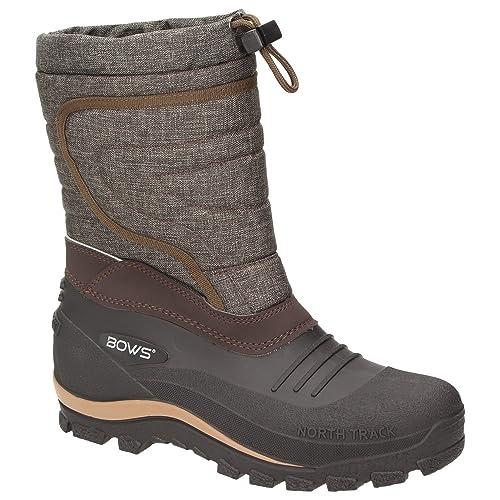 newest e3ce5 52f92 BOWS® -BENTE- Herren Damen Kinder Unisex Schnee Stiefel Winter Boots  Schlupf Schuhe gefüttert wasserdicht Wasserabweisende