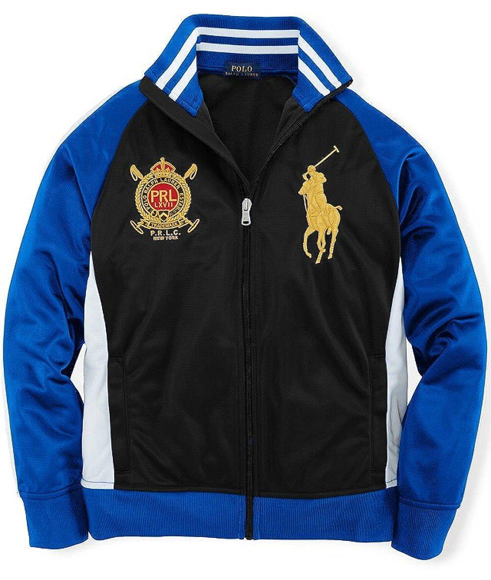 Ralph Lauren Boys' Full-Zip Track Jacket