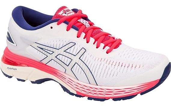 ASICS Femmes Gel-Kayano 25 Chaussure De Running avec Stabilisateurs Chaussures De Running Blanc - Rosé