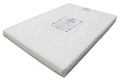 Colch/ón acolchado de espuma transpirable para cuna de beb/é 95 x 65 x 13 cm