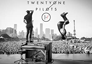 Rock-Poster 21 BlurryFace Posters and Prints Unframed Wall Art Gifts Decor - Tyler shoots and Josh Back Flips off Tyler's Piano 16x25""