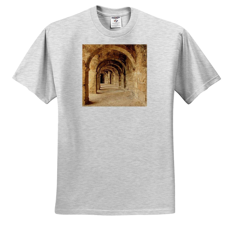 Turkey 2nd Century Roman Theatre ts/_312846 Aspendos - Adult T-Shirt XL Turkey Anatolia 3dRose Danita Delimont