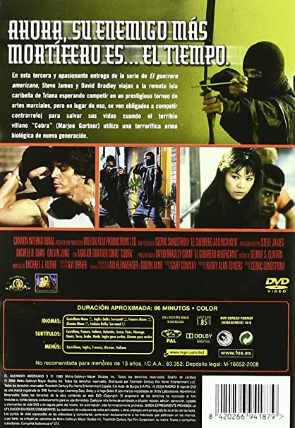 El Guerrero Americano 3 [DVD]: Amazon.es: David Bradley ...