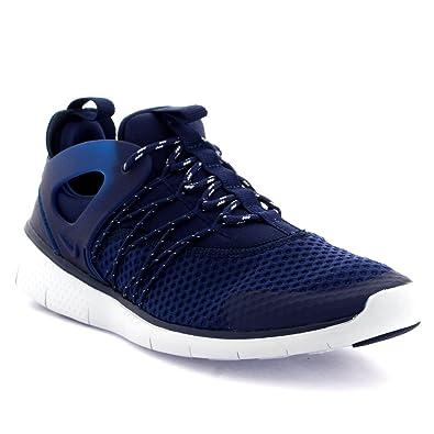 low priced 634b1 43881 Nike Free Viritous, Basses Femme - Bleu - Bleu Marine,