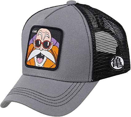Collabs Gorra Dragon Ball Z Kame Trucker Gris OSFA (Talla única ...