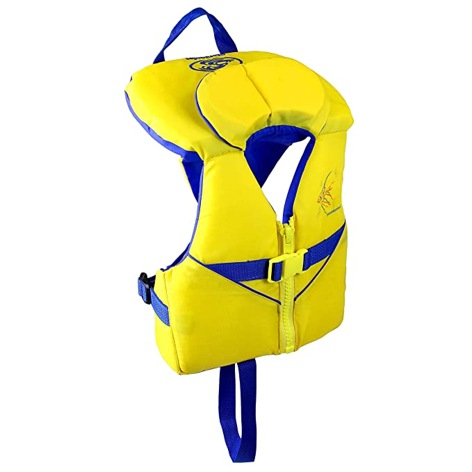 Stohlquist Child PFD 30-50 lbs, Yellow/Blue best children's life vest