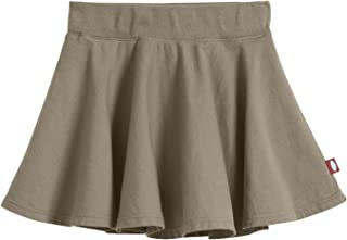 product image for City Threads Girls' 100% Cotton Twirly Skirt Skater Circle Skirt School or Play