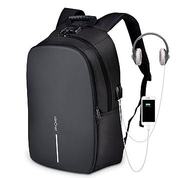 """495de85bcc WinCret Sac à Dos Antivol pour Ordinateur Portable 15.6"""" avec  Serrure/Port de Charge"""