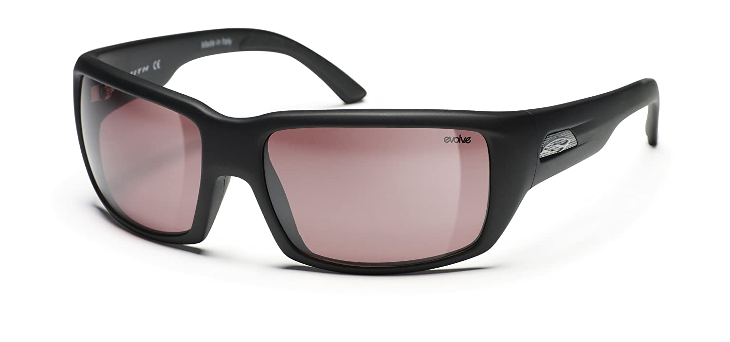 37f448191898 Smith Matte Black Evolve Touchstone with a Polarchromic Ignitor Lens  Sunglass  Amazon.ca  Sports   Outdoors