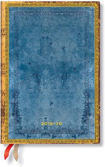 julio 2019 - diciembre 202020, semana tras semana tama/ño mediano Paperblanks horizontal 180 x 130 mm Agenda de 18 meses y calendario con tapa flexible