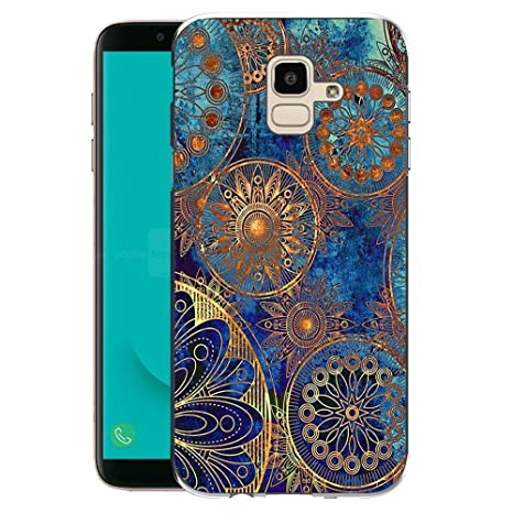 Samsung Galaxy J6 2018 Funda, FoneExpert® Carcasa Cover Case Funda de Gel TPU Silicona para Samsung Galaxy J6 2018