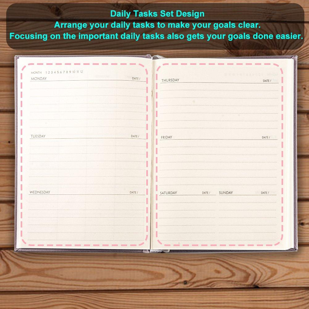 schedule planning notebooks 2018 j d 2018 premium daily planner