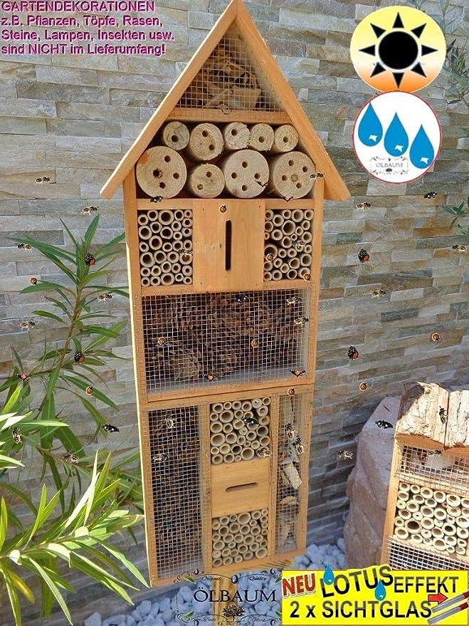 Grosses Insektenhotel Groß - BTV grosses Insektenhotel