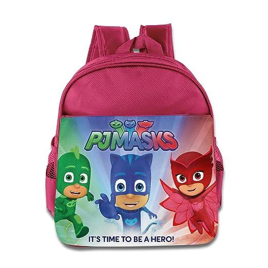 cfa2e5d21e4e Amazon.com: PJ Masks IT'S Time To Be A Hero Kids School Backpack Bag ...