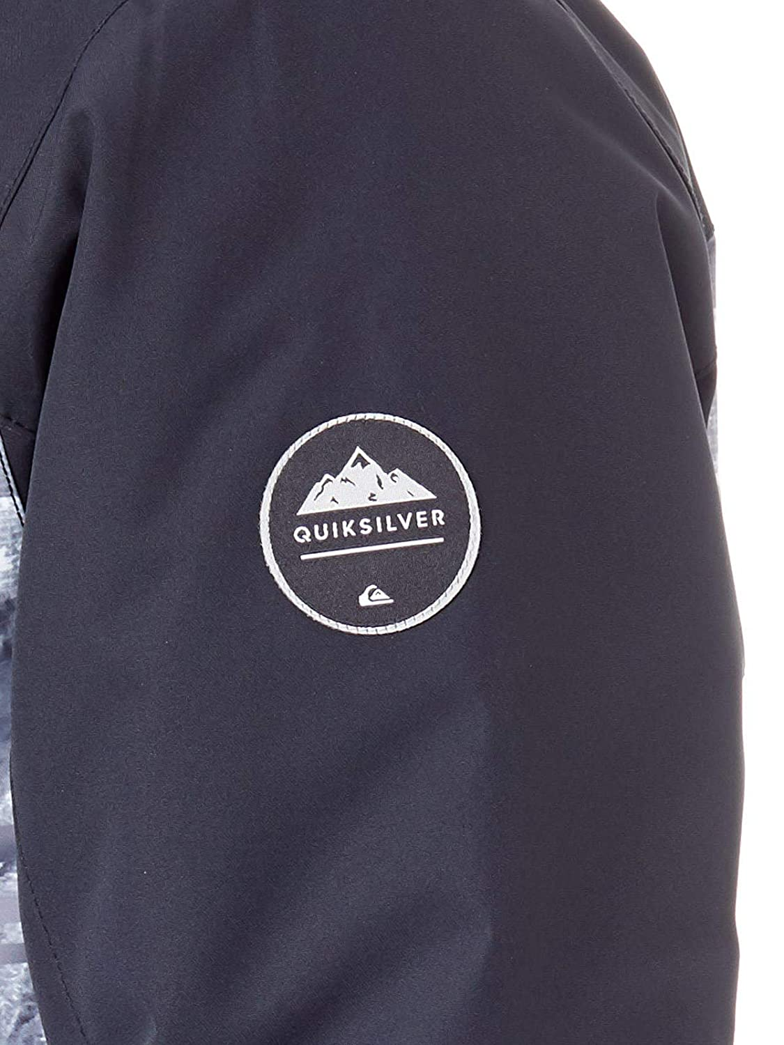 Negro De Engineered Block Snowboard Chaqueta Mission Quiksilver 7YaFwn