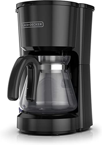BLACK DECKER 5-Cup Coffee Maker, Compact Design