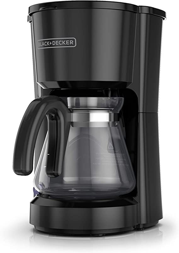 BLACK DECKER 5 Cup Coffee Maker Compact Desig