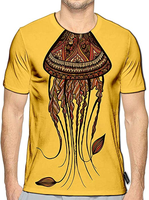 YILINGER 3D Printed T-Shirts You Make Me Happy Short Sleeve Tops Tees