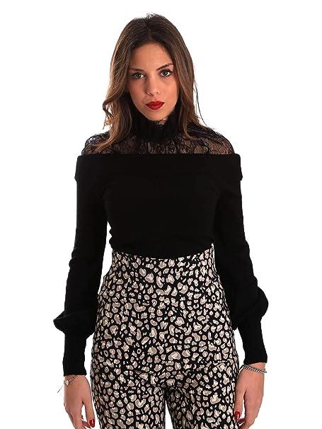 01050984454b Denny Rose Maglia Maglioncino pizzo donna Autunno Inverno 2018-19  821DD50019  Amazon.it  Abbigliamento