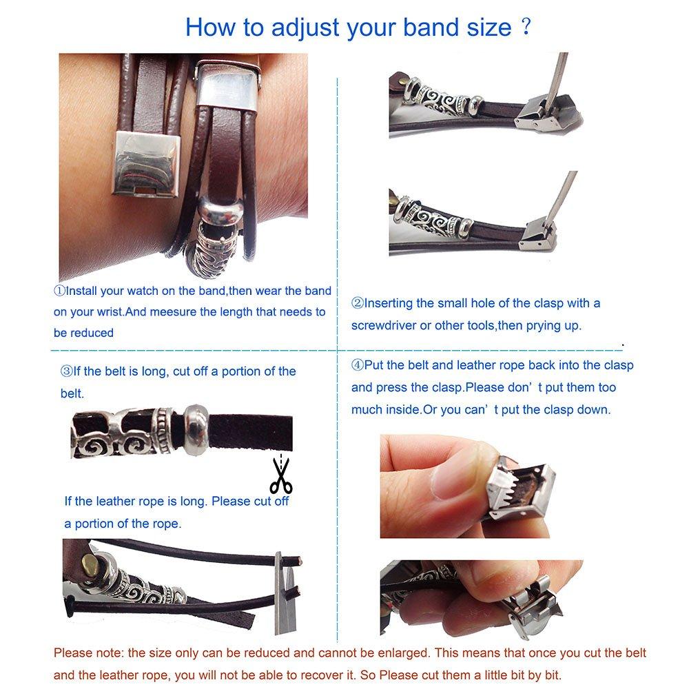 Cinturino per Sport Fitbit Charge 3 Smatiful Ricarica 3/Fasce Regolabili