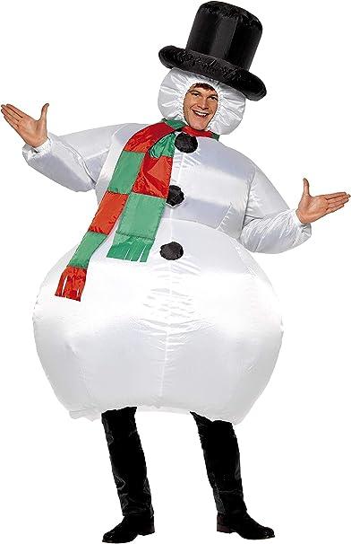 Amazon.com: Smiffy s de los hombres Muñeco de nieve ...