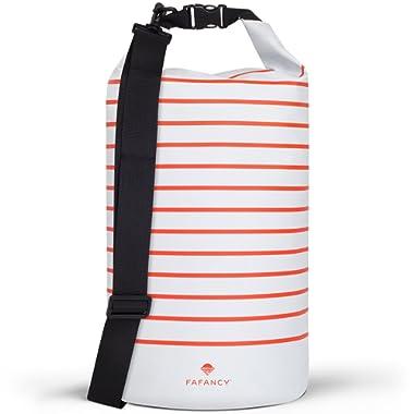 FAFANCY Dry Bag Waterproof - Waterproof Beach Bag - Floating Dry Bag Keeps Gear Dry - Dry Bags Waterproof For Kayaking Boating and Beach