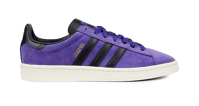 Adidas Campus Schuhe Herren lila (Tinene) mit schwarzen Streifen