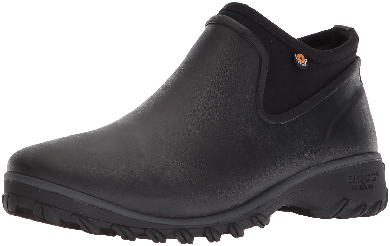 Bogs Women's Sauvie Chelsea Rain Boot B073PJ7349 7 B(M) US|Black