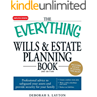 The Everything Wills & Estate Planning Book: Professional advice to safeguard your assests and provide security for your family (Everything®)