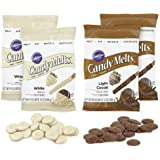 Wilton Baker & Decorator Candy Melt Bundle, Light Cocoa & White