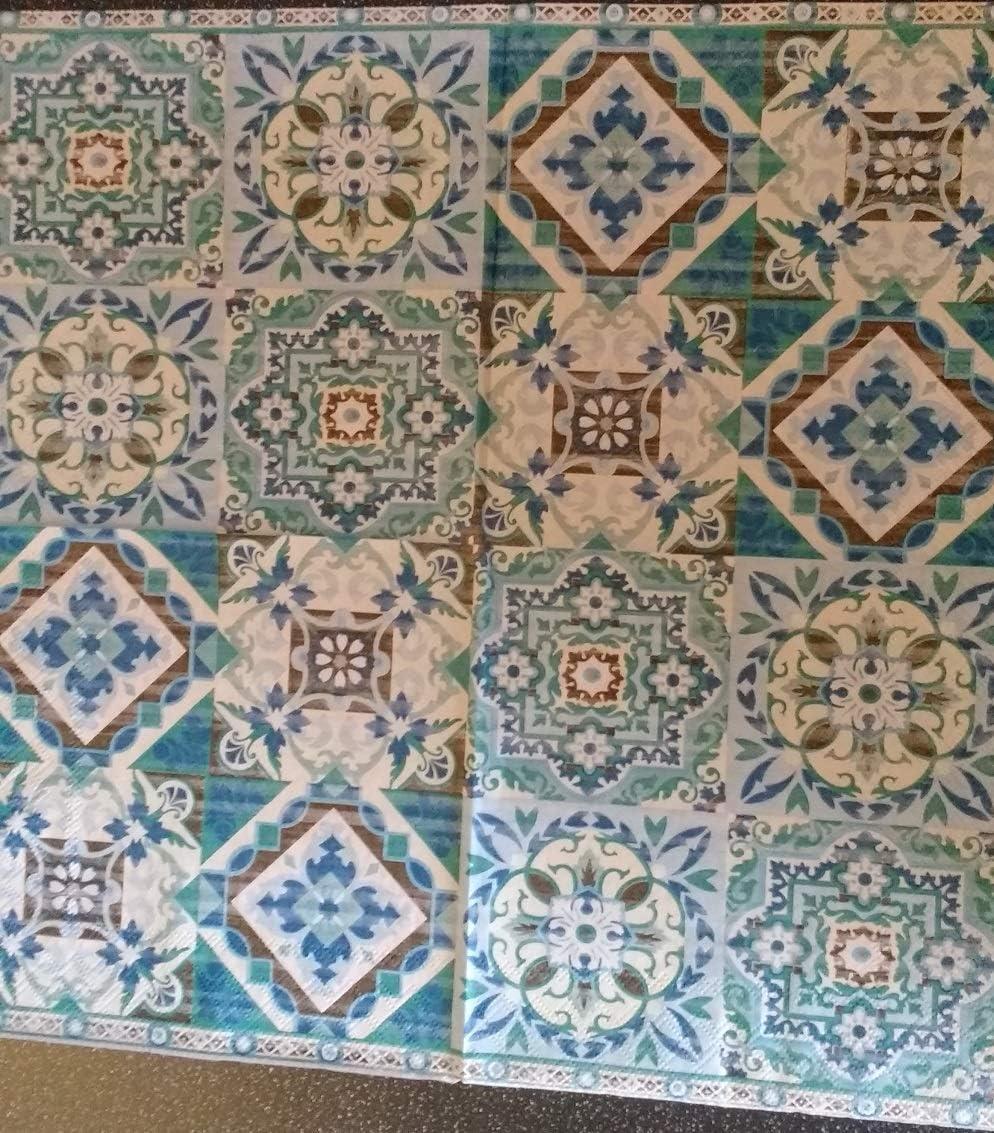 CraftyThings 4 x Paper Napkins Ideal for Decoupage//Napkin Art Japanese Garden