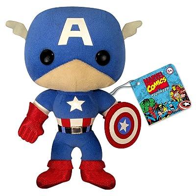Funko Classic Captain America Plushie: Toys & Games