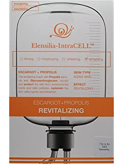 Anti Aging Moisturizing Escargot Snail & Hyaluronic Acid Sheet Mask by Elensilia Tbest Face Pore Blackhead Cleaner Remover Vacuum Comedo Suction Skin CareMachine Tool,Face Pore Blackhead Cleaner Remover