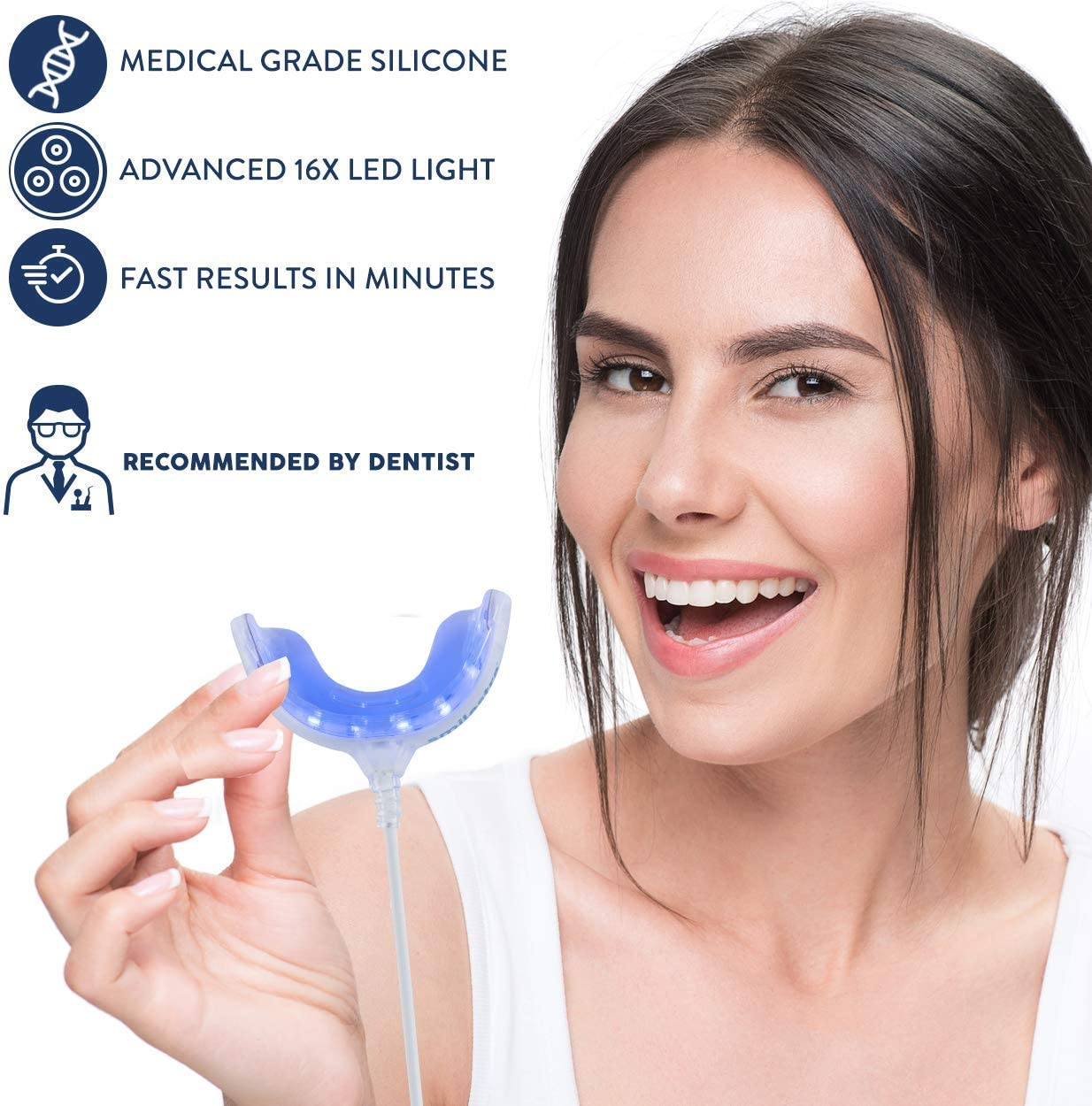 Amazon Com Smilestra Teeth Whitening Kit 16x Led Teeth