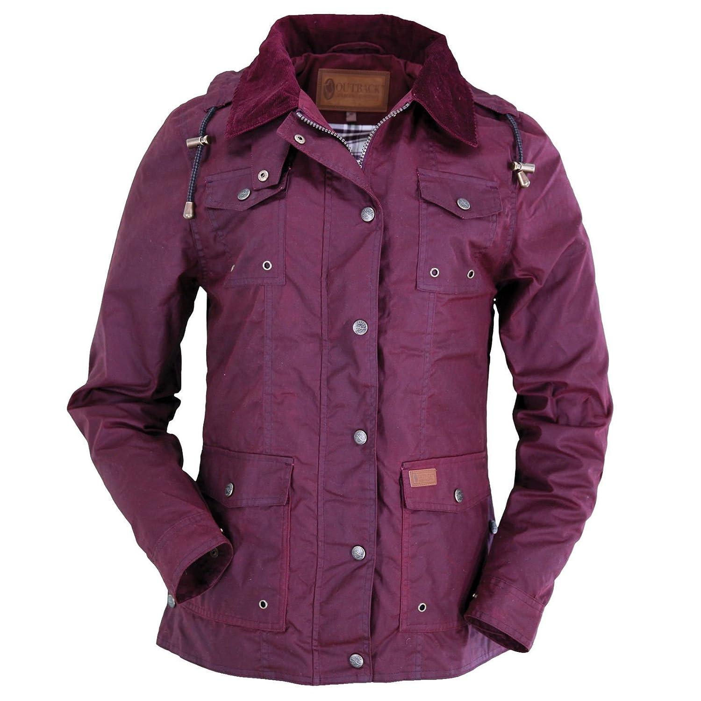 Outback Trading Co Women's Co. Jill-A-Roo Oilskin Jacket - 2184 Berry 225F76