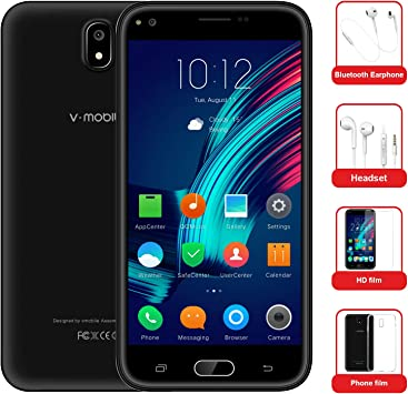 Moviles Libres Baratos 10Pcs v·mobile J5 Telefono Android 7.0 Dual ...