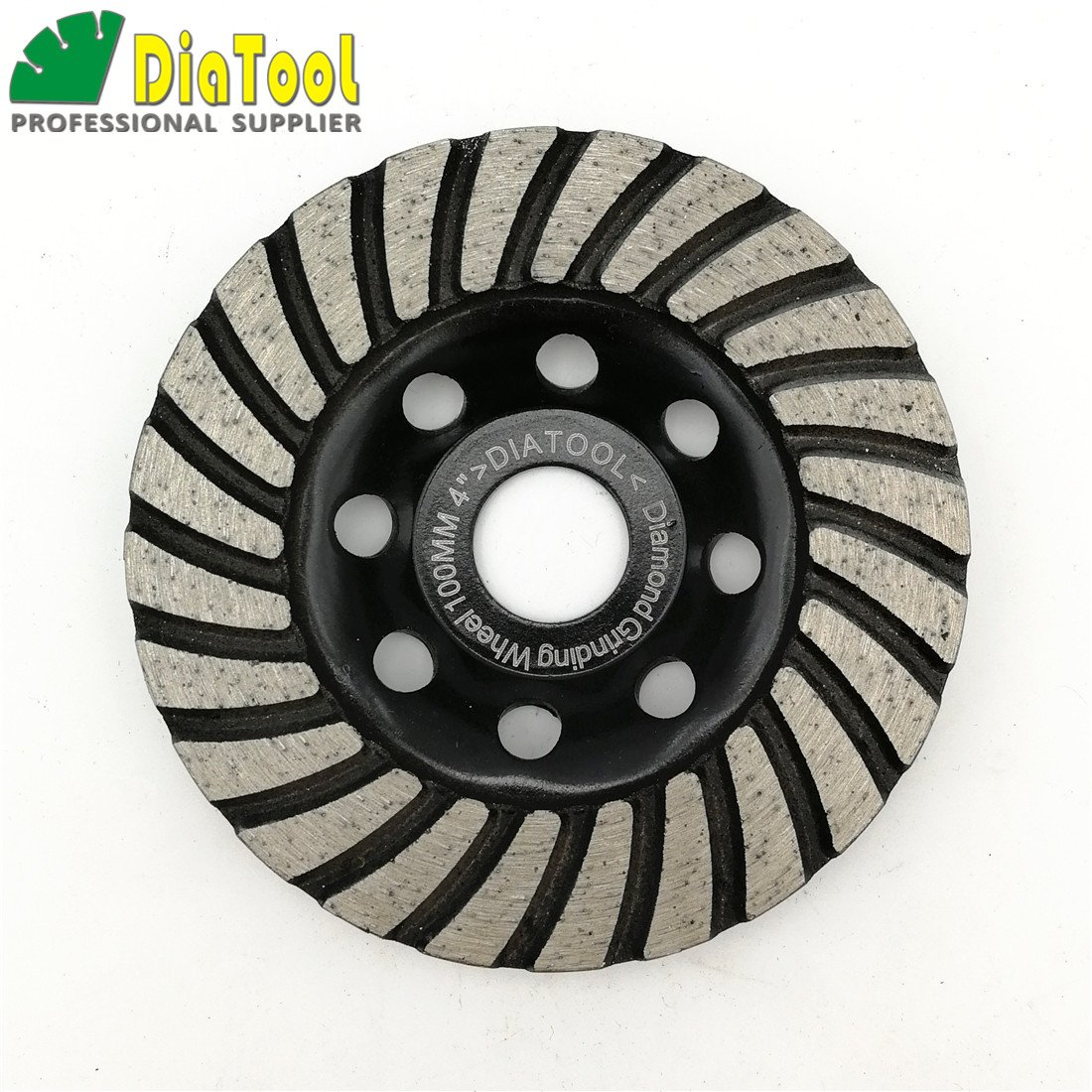 DIATOOL 1pc Diameter 7' Diamond Turbo Row Grinding Cup Wheel Grits 40-50 For concrete Masonry and some other construction material Grinding discs SHANGHAI DIATOOL CO. LTD.