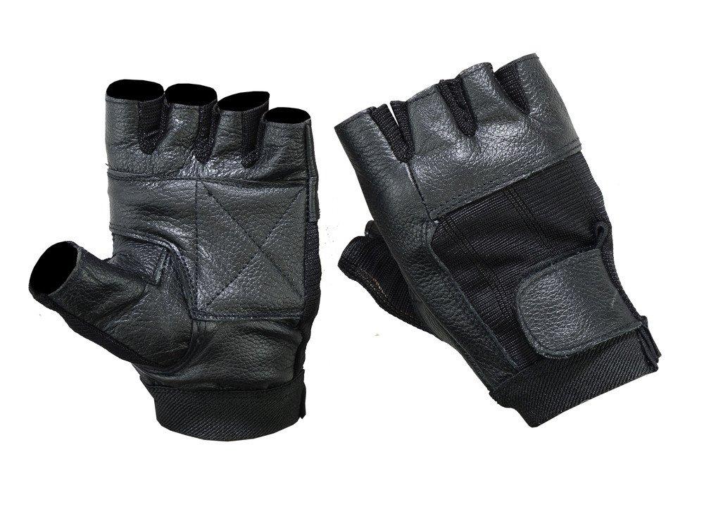 ds12経済指なしグローブ – オートバイ手袋 2XL ブラック DS12-2XL B01M1V5QP8  2XL