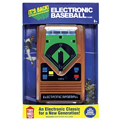 Electronic Retro Sports Game Assortment: Baseball Electronic Games: Toys & Games