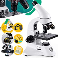 BEBANG 200X-2000X Microscope for Kids & Students Science Compound Microscope Kit with Slides & Adapter for Smartphone…