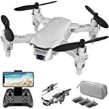 4DRC V9 Mini Drone With 720P HD Camera for adults, Foldable Quadcopter with FPV WiFi Camera Kids Toys Gifts for Boys Girls wi
