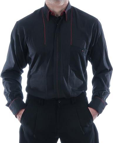 Especial Camisa En Negro, para hombre mejor calidad, HK ...